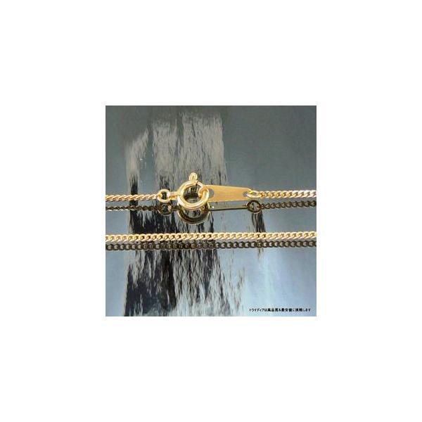喜平ネックレス2面18金 幅1.2mm43cm2.4gメンズ レディース チェーン引輪P035|trideacoltd|02