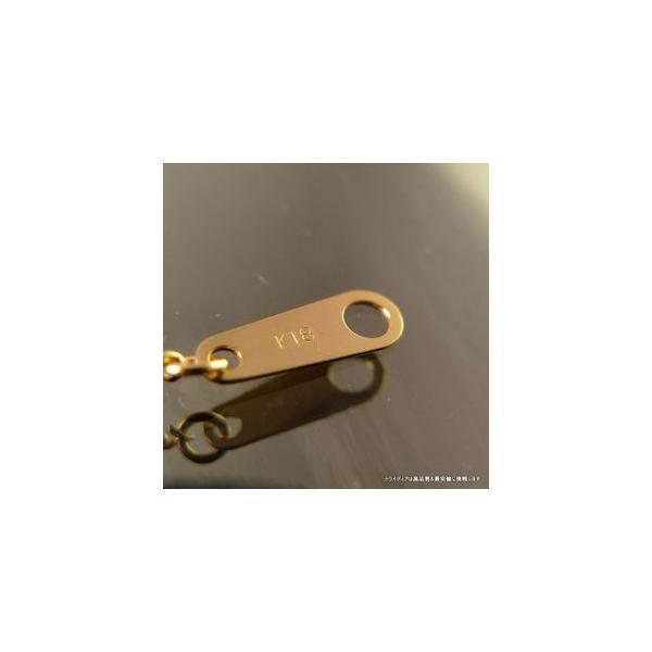 喜平ネックレス2面18金 幅1.2mm43cm2.4gメンズ レディース チェーン引輪P035|trideacoltd|03