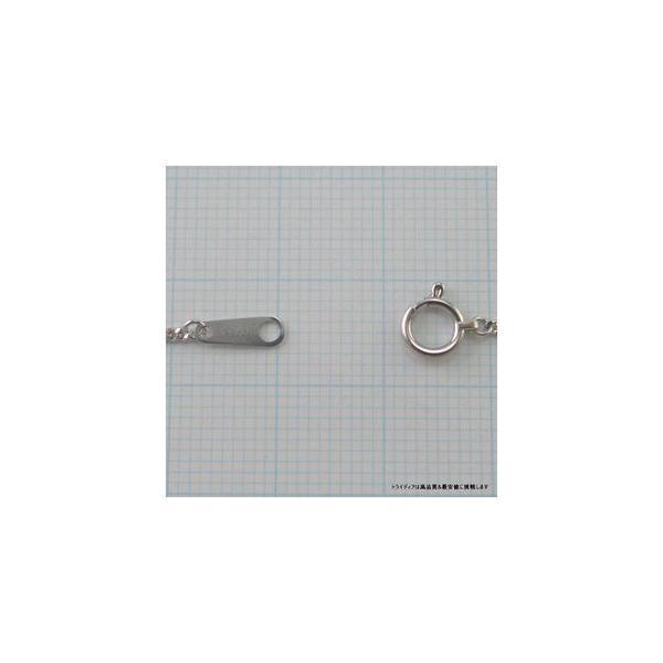 喜平ネックレス2面 プラチナ幅0.8mm40cm1.4gレディース チェーン引輪P024|trideacoltd|03