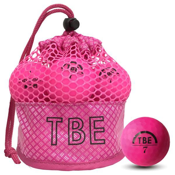 (1カートン)「選べる4色」TOBIEMON ゴルフボール飛衛門(とびえもん)2ピース 蛍光マットカラー メッシュバッグ12球入り×12袋「R&A公認球」 trim 04