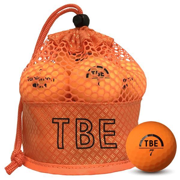 ゴルフボール飛衛門(とびえもん)TOBIEMON「選べる4色」2ピース蛍光マットカラー(オレンジorイエローorレッドor4色ミックス)12球入り「R&A公認球」|trim|02