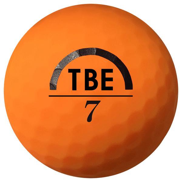 ゴルフボール飛衛門(とびえもん)TOBIEMON「選べる4色」2ピース蛍光マットカラー(オレンジorイエローorレッドor4色ミックス)12球入り「R&A公認球」|trim|03