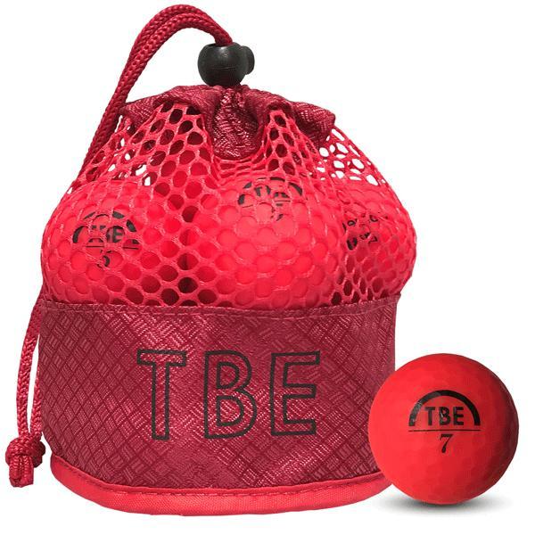 ゴルフボール飛衛門(とびえもん)TOBIEMON「選べる4色」2ピース蛍光マットカラー(オレンジorイエローorレッドor4色ミックス)12球入り「R&A公認球」|trim|06