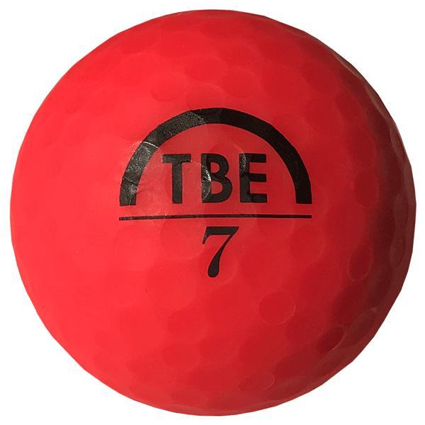 ゴルフボール飛衛門(とびえもん)TOBIEMON「選べる4色」2ピース蛍光マットカラー(オレンジorイエローorレッドor4色ミックス)12球入り「R&A公認球」|trim|07