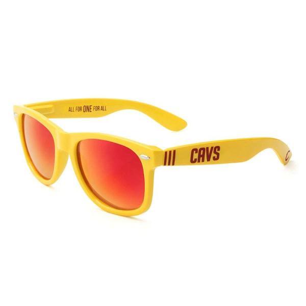 """メンズ サングラス Society43 """"Cleveland Cavaliers"""" Sunglasses - Gold"""