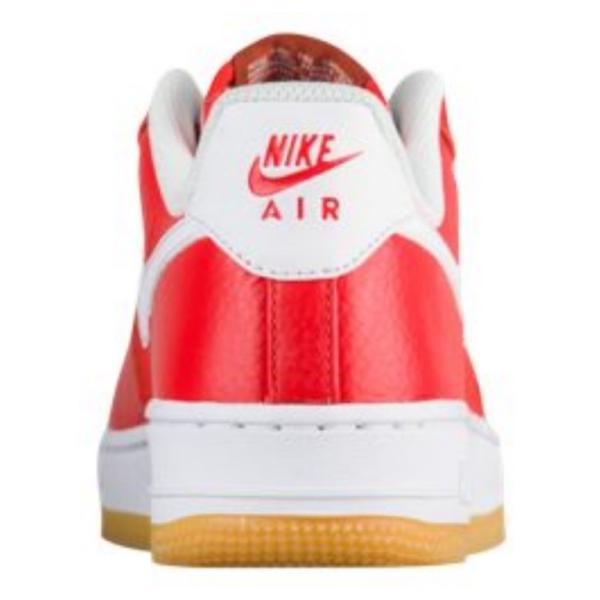 ナイキ レディース Nike Air Force 1 '07 Premium スニーカー Habanero Red/White/Gum Lt Brown エアフォース1