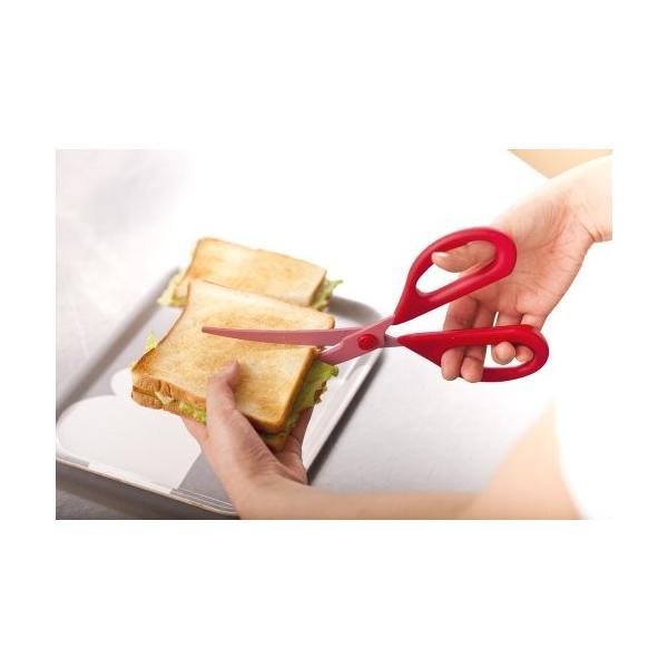 貝印 料理家の逸品 カーブキッチンバサミ DH-2501|tropical-store|02