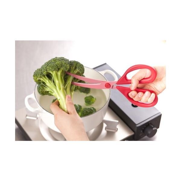 貝印 料理家の逸品 カーブキッチンバサミ DH-2501|tropical-store|06