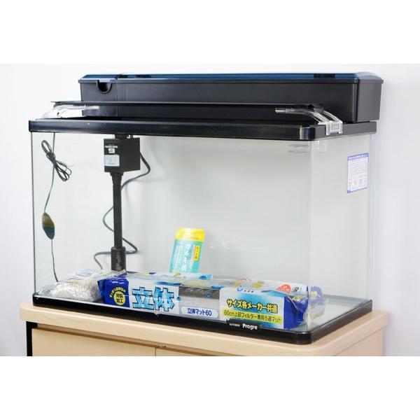 コトブキ プログレ600 LEDライト付・観賞魚飼育5点セット 熱帯魚・アクアリウム/水槽・アクアリウム/水槽セット