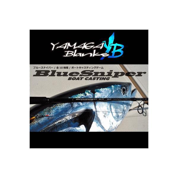 ヤマガブランクス 【BlueSniper】ブルースナイパー 82/4