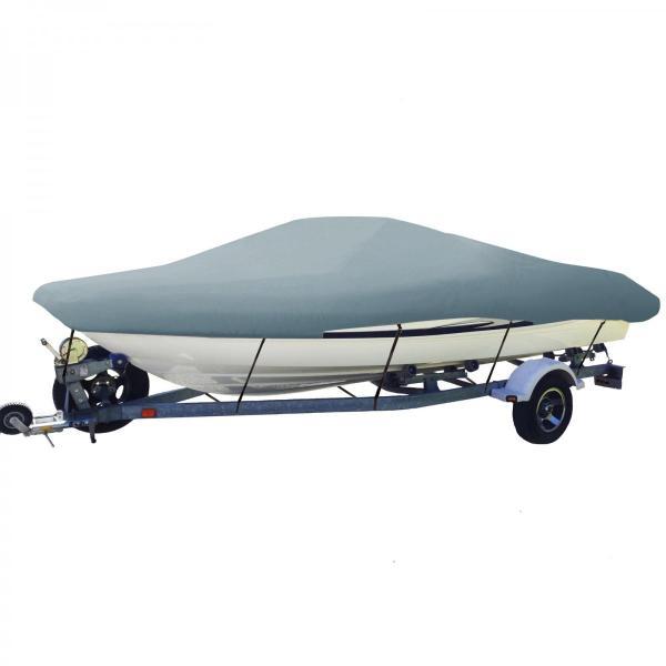 ボートカバー 防水 グレー色あせしない UV プロテクト スピードボートカバー ボート備品|trueblue|11