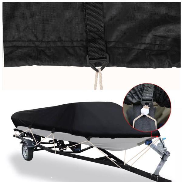 ボートカバー 防水 ブラック 色あせしない UV プロテクト スピードボートカバー|trueblue