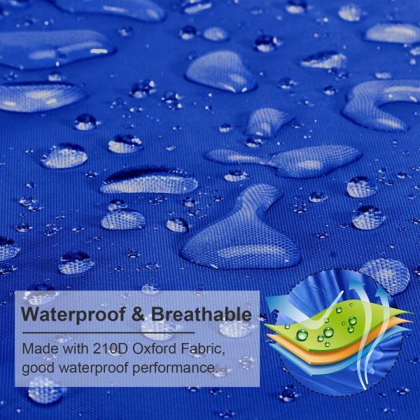 ボートカバー 防水 ブルー 色あせしない UV プロテクト スピードボートカバー|trueblue|05