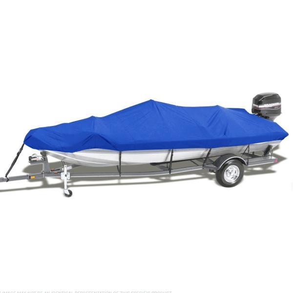 ボートカバー 防水 ブルー 色あせしない UV プロテクト スピードボートカバー|trueblue|08