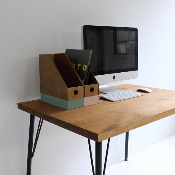 9'sオリジナルデザイン ブックスタンド 本立て 整理 桐|trunk-furniture|02