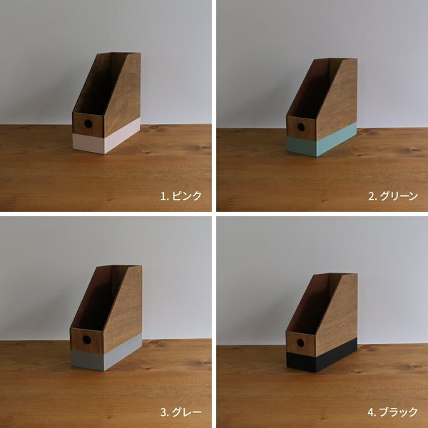 9'sオリジナルデザイン ブックスタンド 本立て 整理 桐|trunk-furniture|04