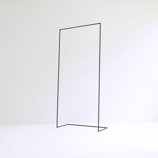 ハンガー アイアン ハンガーラック スリム おしゃれ シンプル iron インダストリアル【サイズ:L】|trunk-furniture|02