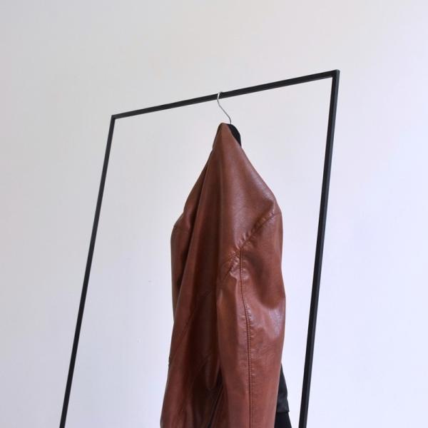 ハンガー アイアン ハンガーラック スリム おしゃれ シンプル iron インダストリアル【サイズ:L】|trunk-furniture|05