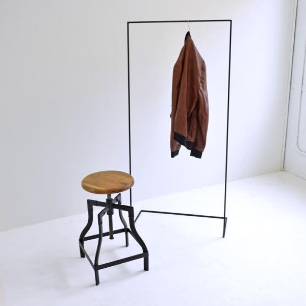 ハンガー アイアン ハンガーラック スリム おしゃれ シンプル iron インダストリアル【サイズ:L】|trunk-furniture|06