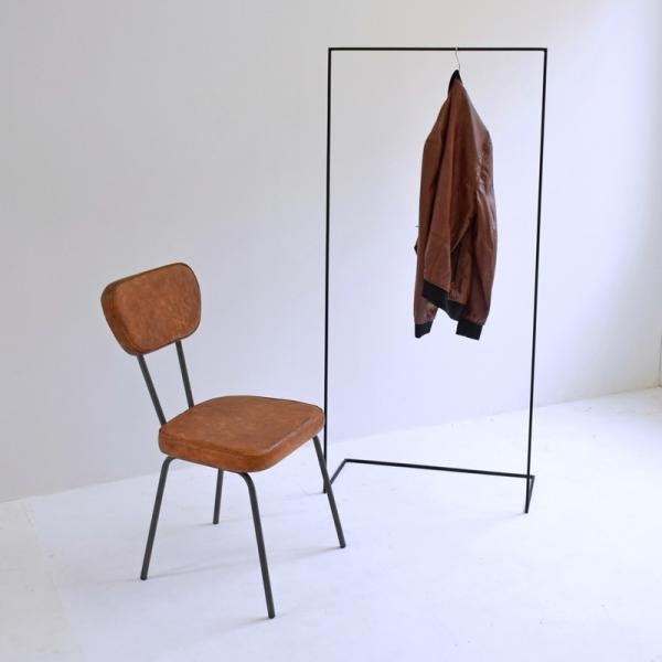 ハンガー アイアン ハンガーラック スリム おしゃれ シンプル iron インダストリアル【サイズ:L】|trunk-furniture|07