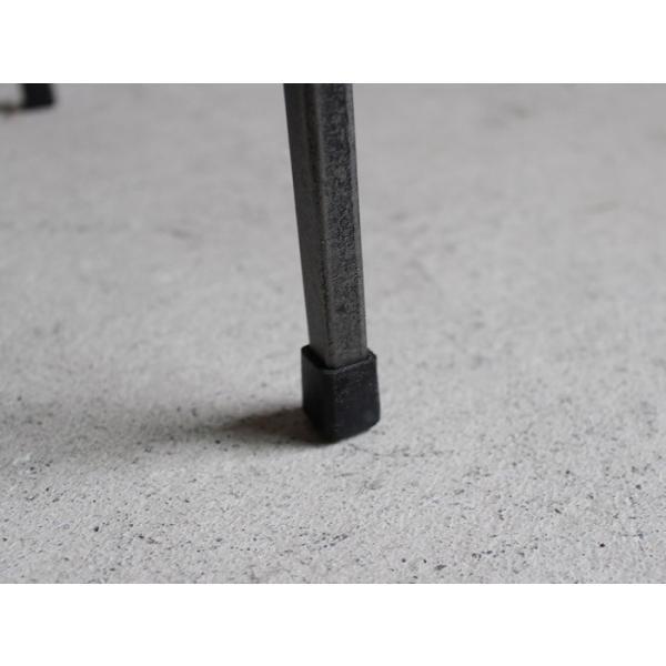 アイアンスツール Iron stool ヴィンテージ加工を施したパイン無垢材とアイアンのコンビネーションが際立つスツール インダストリアル  おしゃれ|trunk-furniture|03
