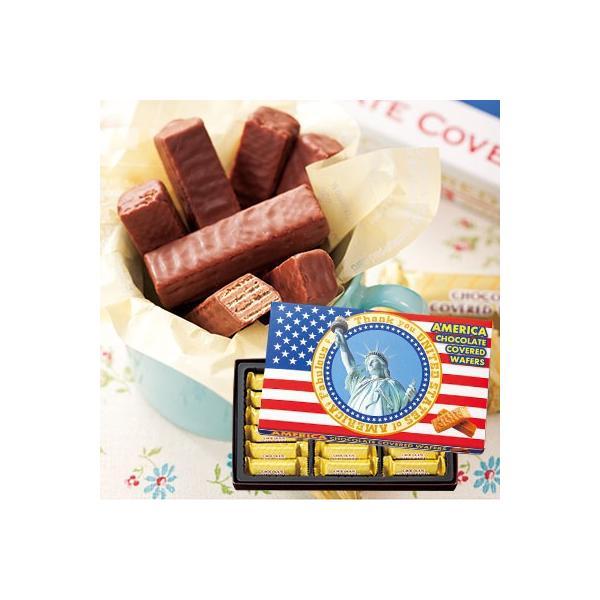 アメリカ チョコウエハース(袋付)
