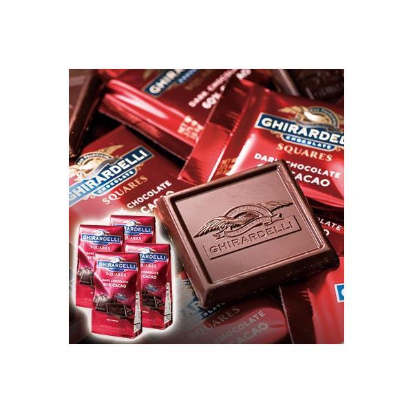 ギラデリ 60%カカオチョコレート 4個セット