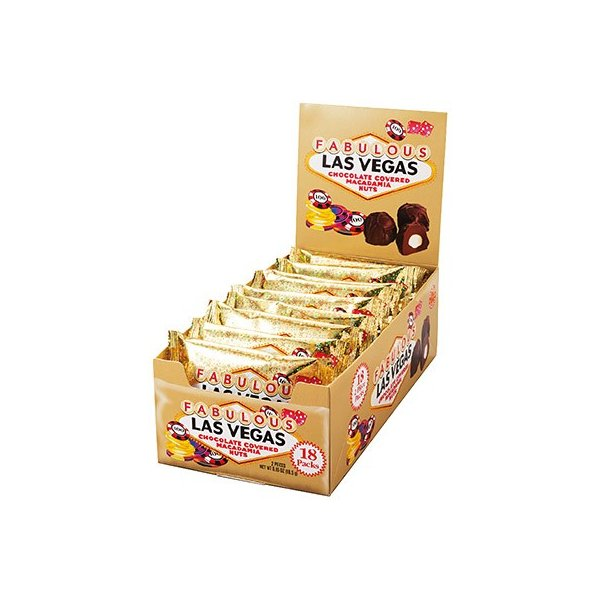 ラスベガス マカデミアナッツチョコレート ミニ 18袋セット