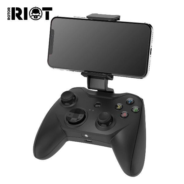 Rotor RIOT ローター ライオット iOS 用ゲームコントローラー RR1850 ブラック 有線コントローラー ライトニング接続 iOS 7より新しいデバイス|try3|02