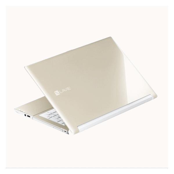 NEC LAVIE ノートパソコン 本体 Smart NS(B) Office搭載 筆ぐるめ シャンパンゴールド Windows 10 Home 15.6型 Celeron 4GB 500GB マウス付き PC-SN18CRSAB-2|try3|03