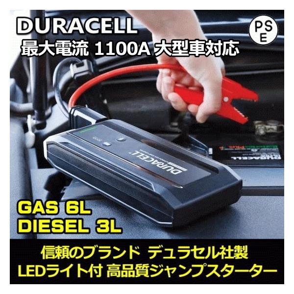 大型車対応 最大電流1100A ジャンプスターター 1年間充電保持 防水 LEDライト付 12V ガソリン車 ディーゼル車 バイク モバイルバッテリー USB 非常用電源