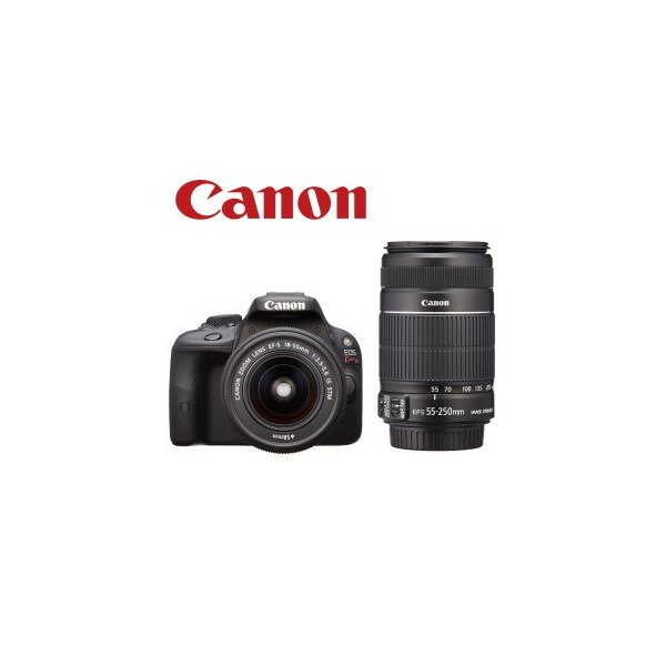デジタル一眼レフカメラ キャノン CANON EOS Kiss X7 ダブルズームキット 1800万画素 連写撮影:4コマ/秒  EOSKISSX7 デジカメ