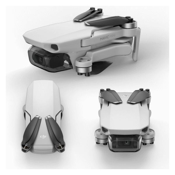 国内正規品 DJI mavic mini fly more コンボ 超軽量 199g 最大飛行時間18分 コントローラー付き バッテリー3つ付き 小型ドローン fly more combo|try3|07