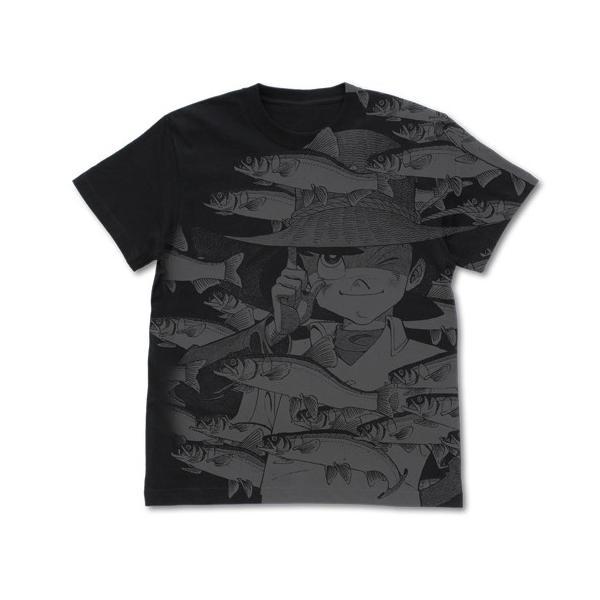 釣りキチ三平 オールプリントTシャツ|tryangleshop