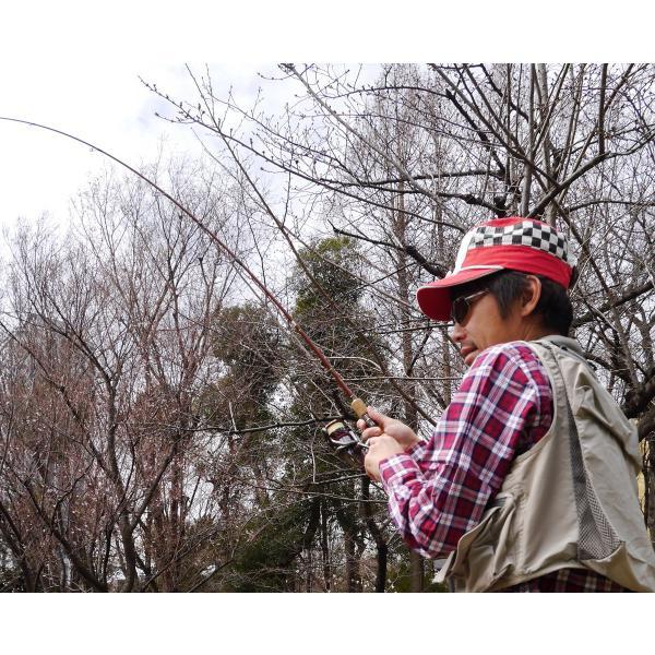 アウトドアキャップ 釣りキチ三平/鮎川魚紳|tryangleshop|07