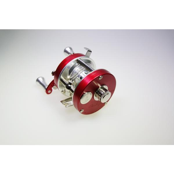 五十鈴工業 ベイトリール BC620SSS(SILVER FRAME) RED|tryangleshop|02