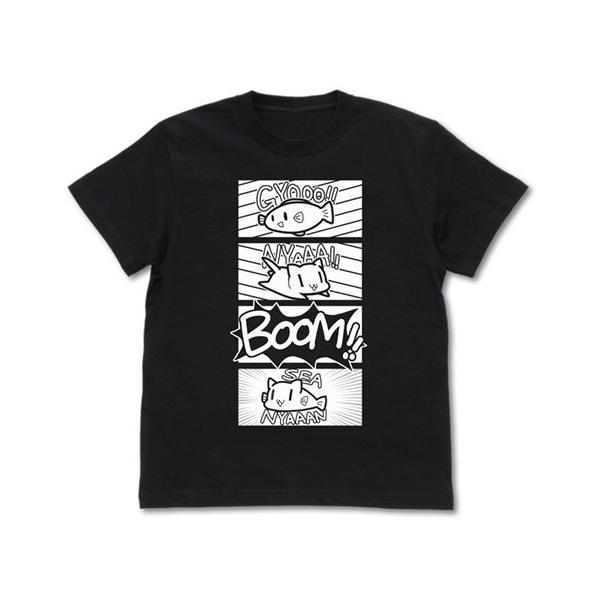 シーにゃん 爆誕Tシャツ [スローループ]|tryangleshop