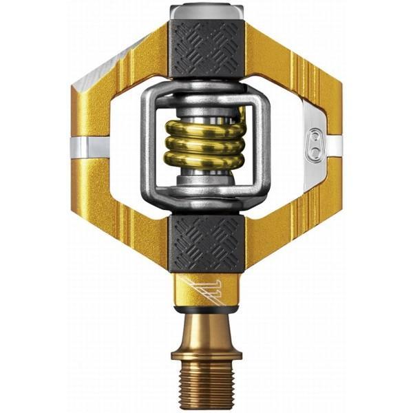 送料無料 CRANKBROTHERS ペダル キャンディ11 V2 ゴールド/ゴールドスプリング