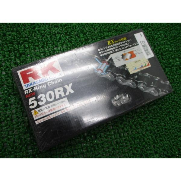 中古社外バイク部品TAKASAGORX-Ringチェーン社外未開封RK530RX-110L400cc〜750cc