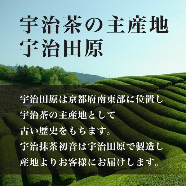 抹茶 お薄 宇治抹茶 初音100g 京都府産100% 製菓 粉末 パウダー 送料無料|tsk-store|05