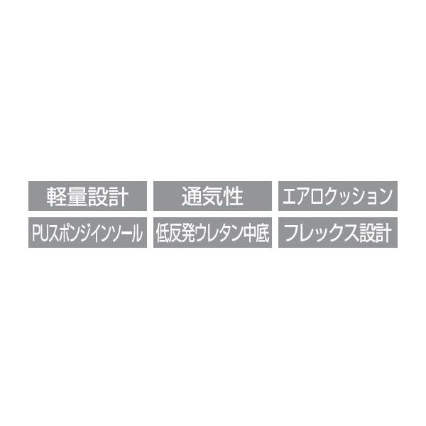 ダンロップ 靴 メンズ スニーカー DUNLOP エアロジャンプ612 DA612|tsubame-mall|05