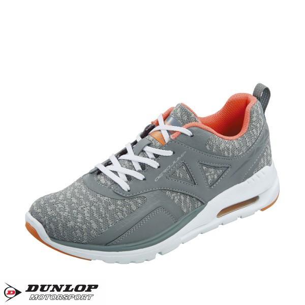 ダンロップ 靴 レディース スニーカー ランニングシューズ DUNLOP モータースポーツ エアロジャンプ614|tsubame-mall