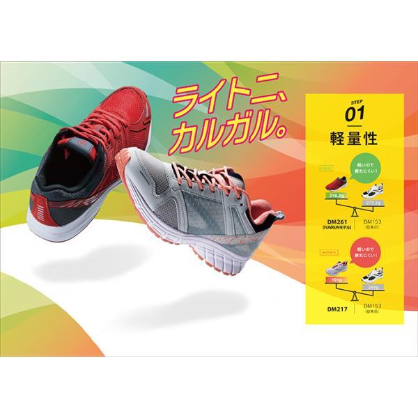 靴 スニーカー メンズ DUNLOP ダンロップ モータースポーツ マックスランライトM261 DM261|tsubame-mall|03