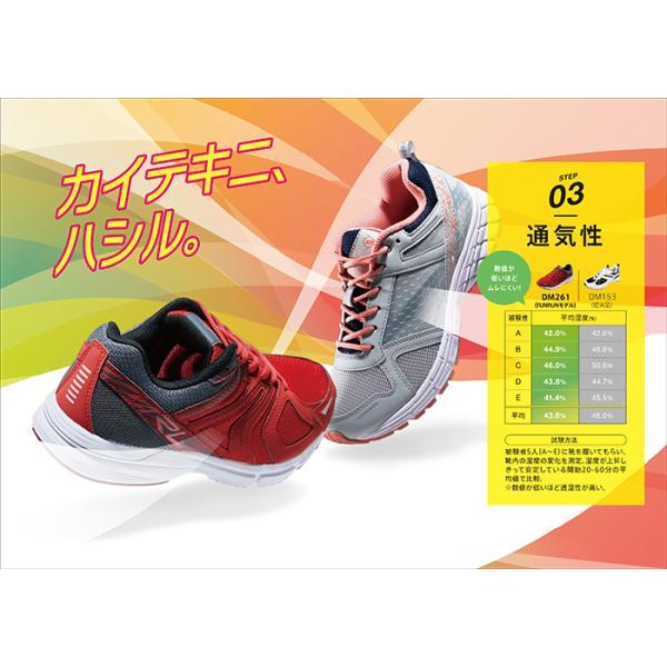 靴 スニーカー メンズ DUNLOP ダンロップ モータースポーツ マックスランライトM261 DM261|tsubame-mall|05
