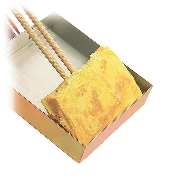 純銅製 玉子焼き 10×15cm アサヒ 食楽工房 「匠のこだわり」|tsubametakumi