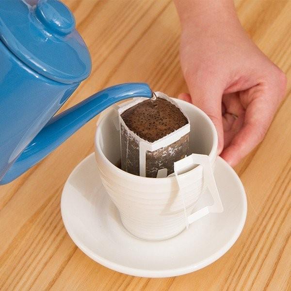ドリップバッグ コーヒー 珈琲 ほろにがブレンド2杯分|tsujimotocoffee|03