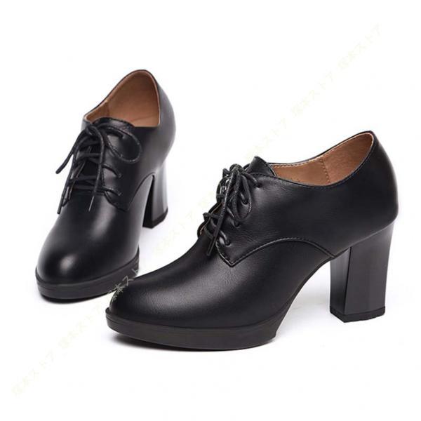 ショートブーツアンクルブーツ厚底パンプスオックスフォードレディースチャンキーヒールブーティおじ靴メンズパンプス厚底靴