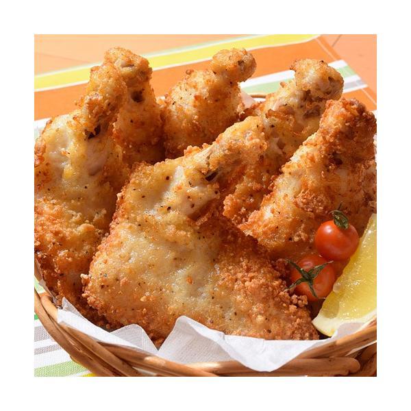 チキン 鶏 サクサク 骨付き フライドチキン 6本 900g 唐揚げ 冷凍同梱可能|tsukiji-ichiba2