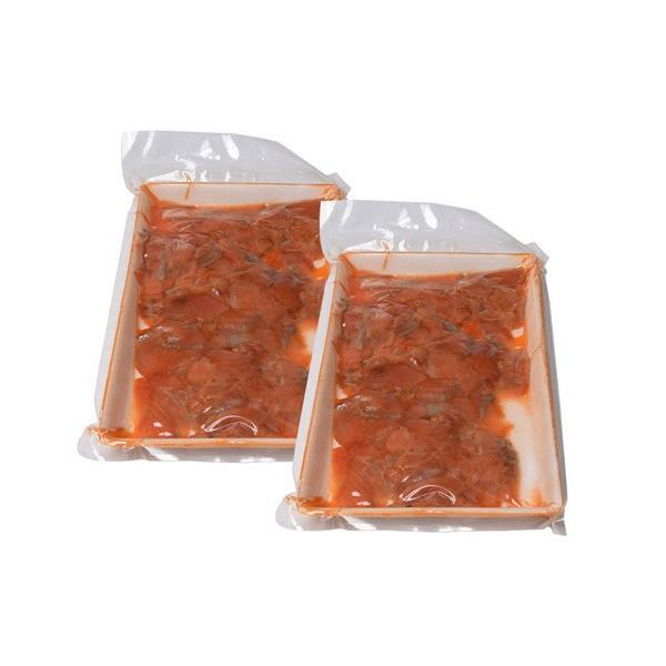 鮭 お刺身 送料無料 紅鮭 スモークサーモン 切り落とし 300g×2パック 計600g tsukiji-ichiba2 05