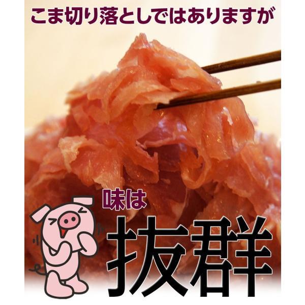 生ハム 訳あり 切り落とし 送料無料 生ハムこま切り落とし 約500g×2P 1キロ 大容量 冷凍 おつまみ  [同梱不可] tsukiji-ichiba2 07